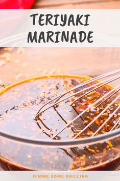 We love this easy Teriyaki Marinade for all of our steak pork and chicken! It's a quick and easy marinade recipe that makes your meat so flavorful and tender! Honey Teriyaki Marinade Recipe, Teriyaki Steak, Sauce Teriyaki, Easy Teriyaki Chicken, Recipe Marinade, Pork Tenderloin Marinade, Pork Marinade, Chicken Marinade Recipes