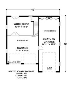 RV garages with living quarters + shop space, and other living ...