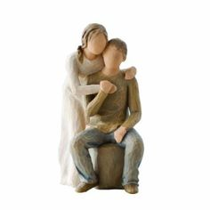 Love Is at Home on Valentine's Day #DEMDACO Willow Tree Figurine#You and Me