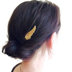 Gold Wing Hair Pins