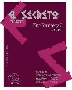 2009 El Secreto Tri-Varietal Kosher Wine Red Blend, Mendoza, 750 mL *** Check out the image by visiting the link.
