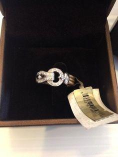 ALOR (CHARRIOL) ALOR (CHARRIOL) NWT DIAMOND KNOT CABLE RING