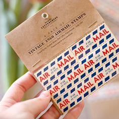 Original 1960 Airmail Stamps