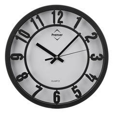 Wall Clock, Black/White