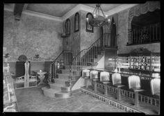 Joseph's Café, Los Angeles, CA, 1926; 4065 West Pico Boulevard; South Norton Avenue. (Dick Whittington Studio)