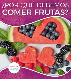 IMPORTANCIA DE COMER FRUTAS ¿POR QUÉ LA DEBEMOS CONSUMIR? ¿PARA QUÉ SIRVEN? ¡COMPARTE!  #salud #beneficios #saludycuidado #saludable #alimentos #propiedades #frutas