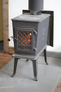 This is the woodburning stove we have in our den - it heats up our whole main floor and the furnace never kicks on!!