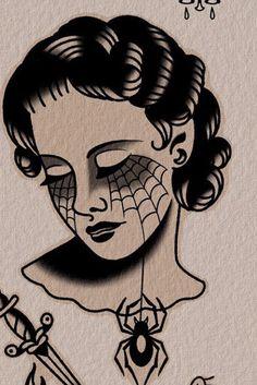 Black Ink Tattoos, Black And Grey Tattoos, Body Art Tattoos, Sleeve Tattoos, Tattoo Design Drawings, Tattoo Sketches, Traditional Black Tattoo, Traditional Tattoo Design, Old School Tattoo Designs