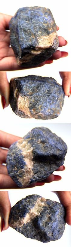 Sodalite 69179: Adorable 762.68 Ct. Blue/White Sodalite Slices Rough Mineral Specimen -> BUY IT NOW ONLY: $38.99 on eBay!