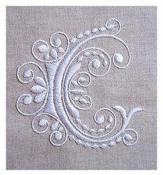 embroidered monogram                                                                                                                                                                                 More