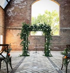 Green Wedding, Our Wedding, Wedding Flowers, Wedding Altars, Ceremony Arch, Floral Designs, Flower Wall, Arches, Logan
