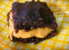 Peanut butter & Chocolate indulgence!  Make either squares or balls of peanut butter & chocolate (I prefer the balls)