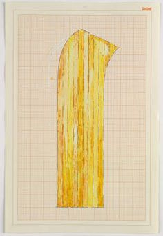 Rachel Whiteread / Study for Wax Floor 1992