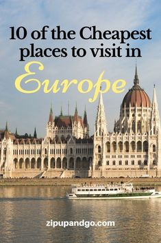 Find out list of the cheapest places to travel in Europe, including top things to do in Europe, hottest travel destinations and travel ideas to tour Europe! Make these your travel bucket list. We share best places to stay with budget accommodation options and good places to feast on delicious food. When to book flights when you are broke or on a budget. #europetraveltips #cheapestplaceeurope #exploreeurope #visiteurope #traveldestinationbucketlist #citiestovisit #traveleurope #thingstodoineurope