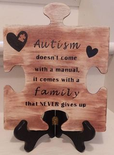 Check out this item in my Etsy shop https://www.etsy.com/listing/543385840/autism-awareness-wooden-puzzle-piece-w