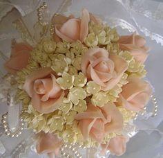cold porcelain bouquet