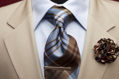 Khaki Jumbo Plaid Tie available NOW at the Urban Professor Shop for $28.00.  Sign-up w/ promo code to get 5% off of all orders as a member.