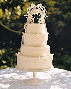 DIY Wedding Bells Cake Topper
