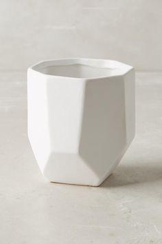 Slide View: 2: Cut Ceramic Planter