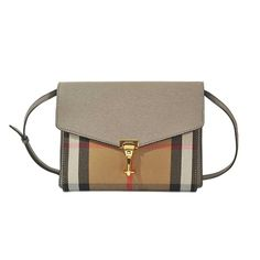 BURBERRY Small Macken Bag. #burberry #bags #shoulder bags #leather #