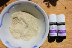 Essential oils for home-made toothpaste