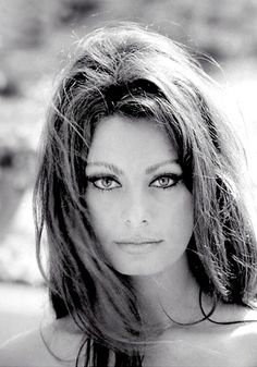 Sofia Loren - truly one of the most beautiful women I've ever seen!  She has aged so wonderfully!!