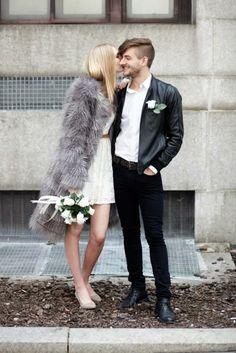 14 adorable City Hall weddings