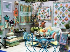Pretty craft booth