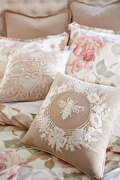 A few flowers, some intricate stitching and a friendly bee can transform your bedroom into a romantic retreat. Pier1's Romantic Glam Bee and Floral Wreath Pillow is the queen bee of pillows—atop your sofa, chair or bed. Plus, it's filled with a soft, shapely poly insert to keep things comfortable.