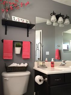 ideas to decorate a small bathroom with colour. 2019 ideas to decorate a small bathroom with colour. The post ideas to decorate a small bathroom with colour. 2019 appeared first on Bathroom Diy. Home Interior, Interior Design, Interior Ideas, Luxury Interior, Interior Styling, Bathroom Inspiration, Bathroom Theme Ideas, Bathroom Color Schemes, Womens Bathroom Ideas