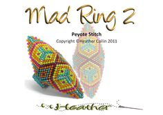 Step by Step Bead Weaving Pattern  By Heather Collin