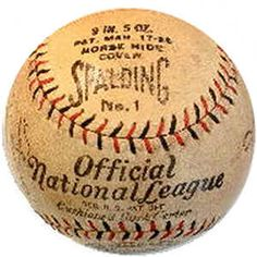 Spalding Official National League Baseball