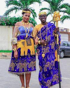 Traditional Wedding Attire, African Traditional Wedding, African Traditional Dresses, Traditional Outfits, Couples African Outfits, African Wedding Attire, African Maxi Dresses, Kente Styles, Africa Fashion