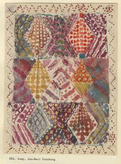 Pattern Art, Pattern Design, Lino Art, Textiles Sketchbook, Pattern And Decoration, Tribal Rug, Quilting Designs, Textile Art, Creative Art