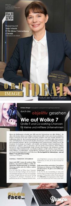 Orhideal IMAGE Magazin - März 2015 - Magazine with 78 pages: Orhidea Briegel's IMAGE Magazin - Antje Schuele, Torsten Grigull, uvm. Co Working, Things To Do