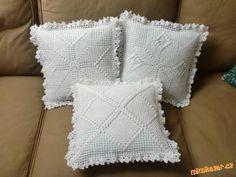 vzory na háčkované polštáře