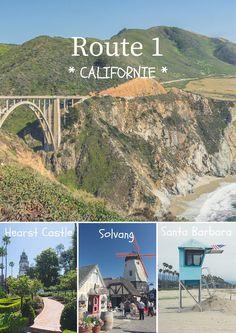 La fameuse Route 1, le long du Pacifique, qui descend la côte de Californie. Quelques arrêts, 5 exactement, dans des villes et autres lieux historiques ou naturels.