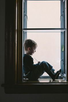 .Maybe my kid will be like me and likes sitting in odd places in silence whilst thinking about things.