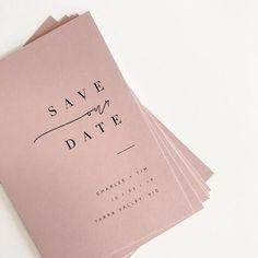 #weddinginvitations Minimalist Wedding Invitations, Simple Wedding Invitations, Wedding Invitation Design, Wedding Stationary, Blush Wedding Stationery, Minimalist Invitation, Minimalist Font, Wedding Blush, Engagement Invitations