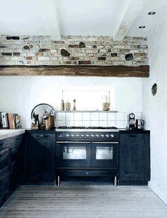 aire rural en la cocina