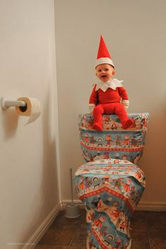 Pin for Later: This Family Has a Real-Life Elf on the Shelf, and He's Cuter Than All of Ours