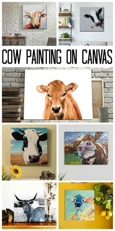 Want a cow painting