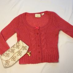 Anthropologie Size XSFRIDAY SALE Sweet sweater, like new, labeled S-I'd say XS though. Anthropologie Sweaters Cardigans