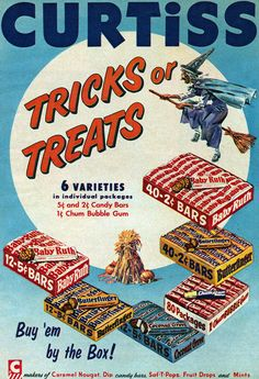 Curtiss Tricks or Treats Ad