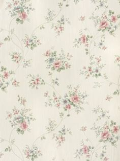 Rasch Textil Satintapete Country Charm 298429 Rosen rosa blau online bestellen