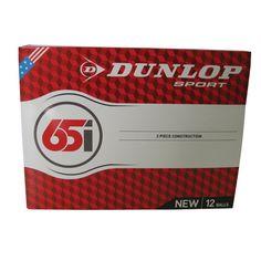 Dunlop 65I Golf Balls
