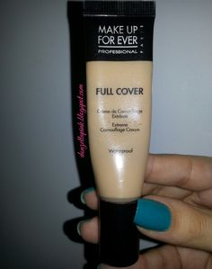 Resenha: corretivo Full Cover da Make Up For Ever - Extreme Camouflage Cream