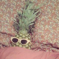 Pineapples sleep