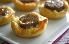 24/7 Low Carb Diner: Chile Jack's Sausage Bites. Sausages filled with Hatch chiles and Jack Cheese. Dough is coconut flour based--gluten free and low carb. #lowcarb, #glutenfree
