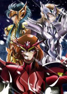 Saint Seiya SoG - CAMUS/SURT/SIGMUND - Final by Iso-pI on DeviantArt